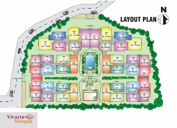 Daya Vivarta Maagan Layout Plan