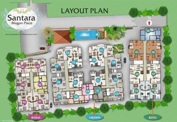 Daya Santara Magan Place Layout Plan