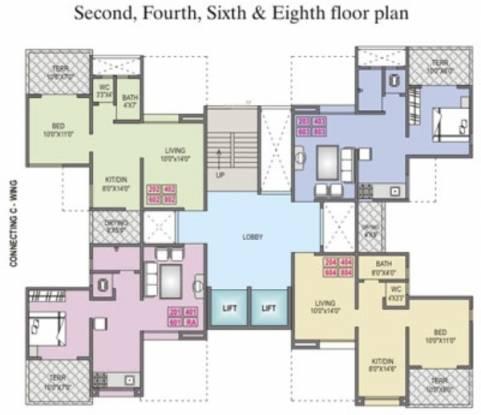 Yash Platinum Cluster Plan