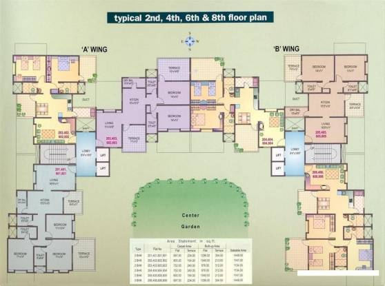 Yash Orchid Cluster Plan
