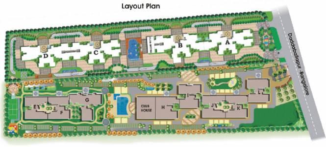 NCC Nagarjun Meadows II Layout Plan