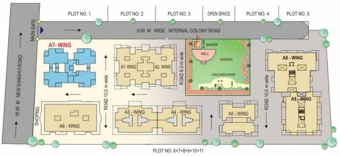 Yash Sankul Site Plan