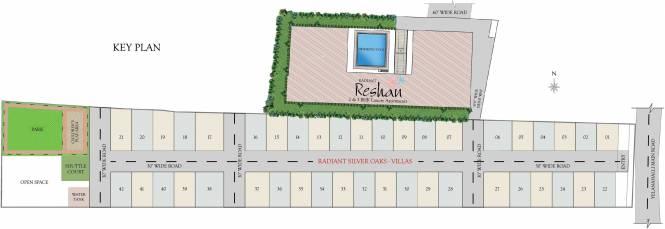 Radiant Reshan Site Plan