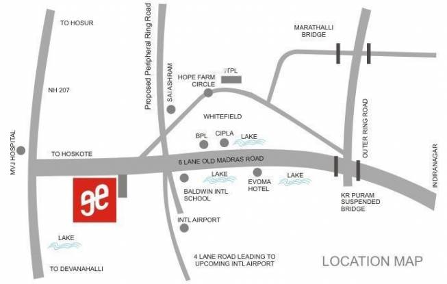 Edifice Grand Edifice Location Plan