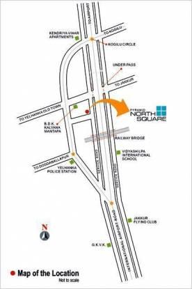 Pyramid North Square Location Plan