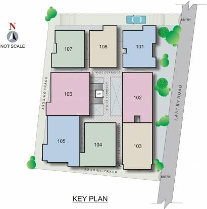 Pyramid North Square Site Plan