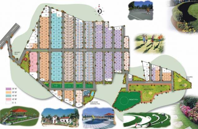 Aashrayaa Meadows Site Plan