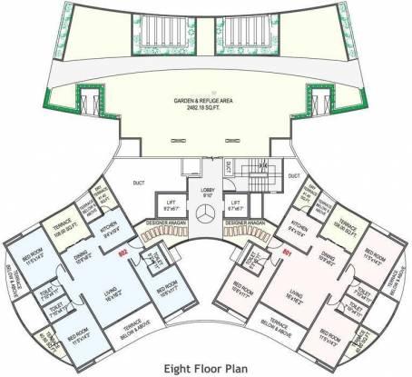 Nandan Prospera Cluster Plan
