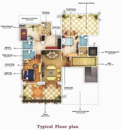 Shivam Solitaire Cluster Plan
