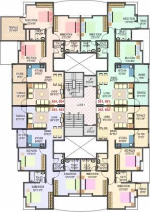Home Developers Bhagyatara Society Cluster Plan