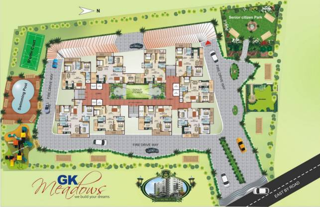 GK Meadows Site Plan