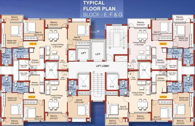 Yuga Alta Cluster Plan