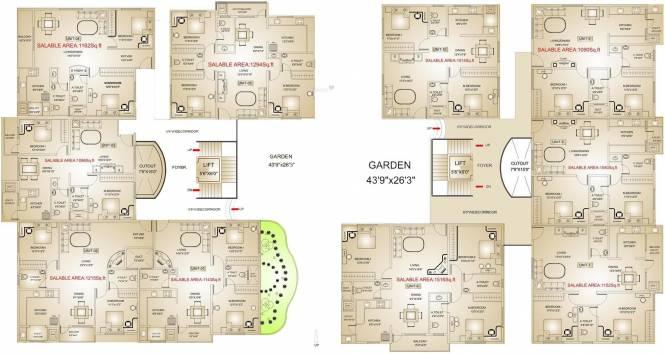 GK Jewel City Cluster Plan
