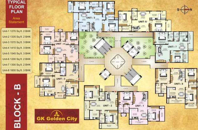GK Golden City Cluster Plan