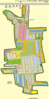 Upkar Green Fields Layout Plan