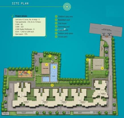 Sobha Habitech Site Plan