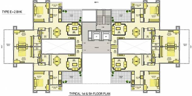Phadnis Green Square Cluster Plan