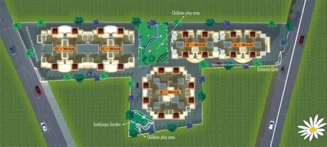 GK Flora Residency Master Plan