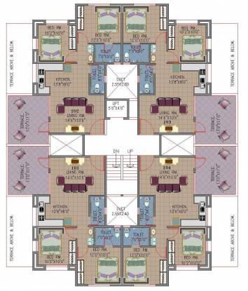 Khivansara Shubham Terraces Cluster Plan