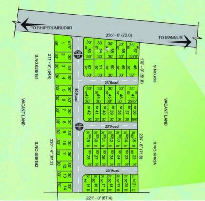 MCB Greenest Layout Plan