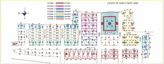 Agni Fairy Land Layout Plan