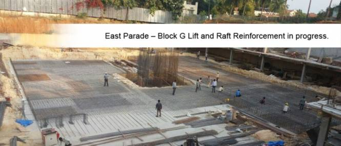 Jain East Parade Construction Status