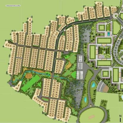Pacifica Aurum Villas Layout Plan
