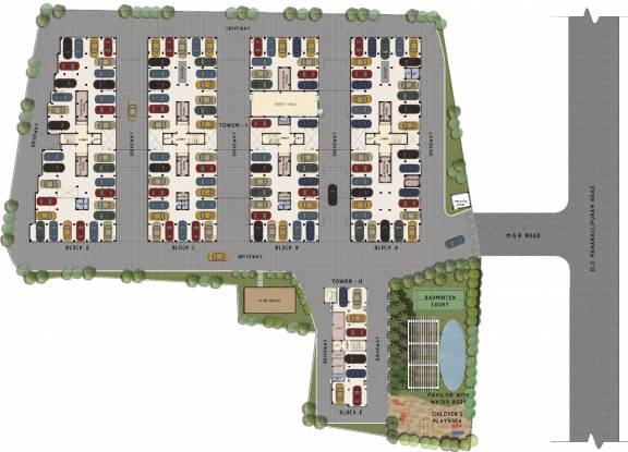 RSK Orchid Garden Site Plan