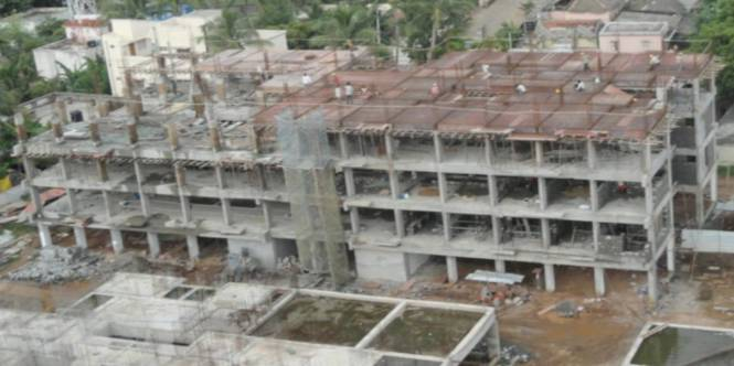TVH Taus Construction Status
