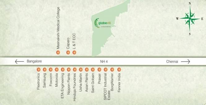 ETA Globevill Location Plan
