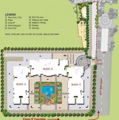 XS Harmony Site Plan
