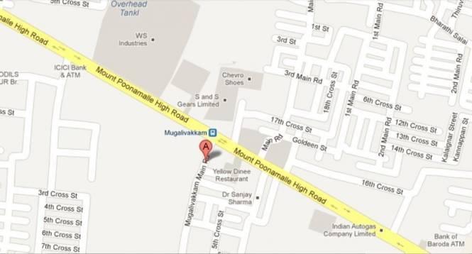 Anuna Royal Jyothy Location Plan