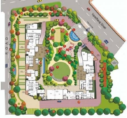 Prince Courtyard Layout Plan