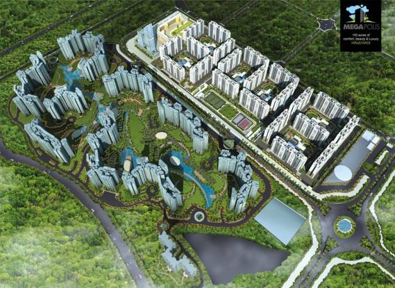 Pegasus Megapolis Splendour Elevation