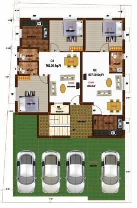 Sikara Westend Cluster Plan