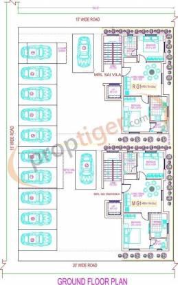 MRL Sai Vila Cluster Plan