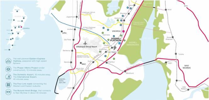 Godrej Platinum Location Plan