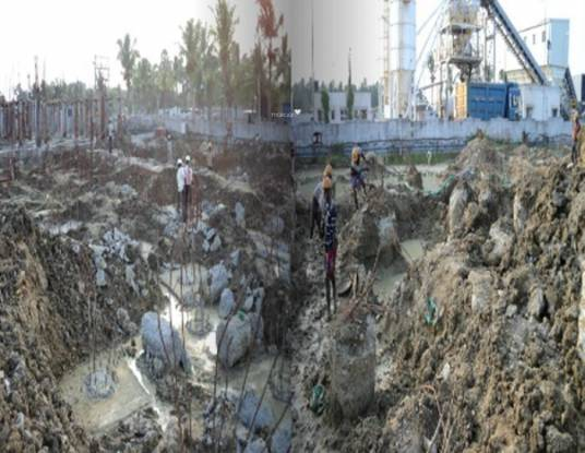 Arihant Frangipani Construction Status