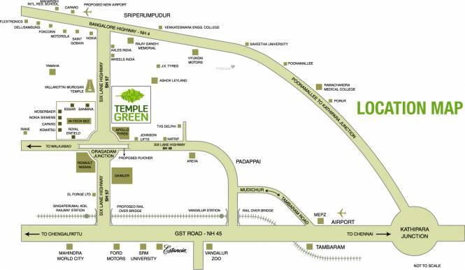 Arun Heights Location Plan