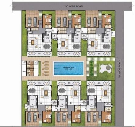 Arun Villa Juhu Beach Site Plan