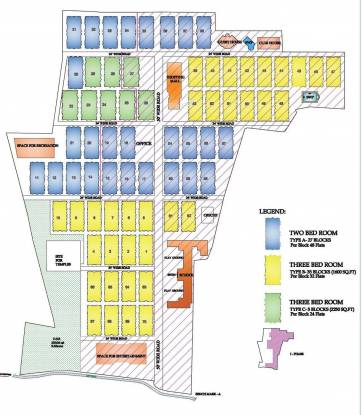 CeeDeeYes Pattinam Site Plan