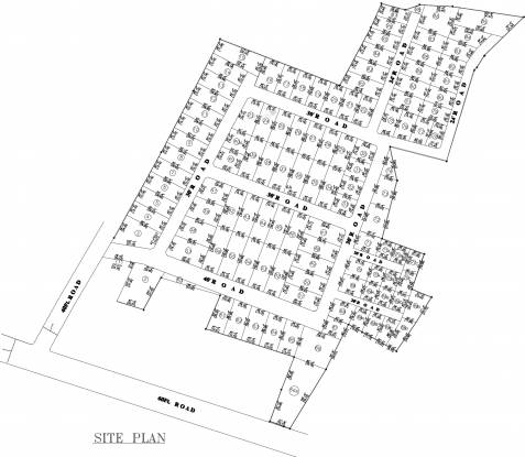 Nahar Backwaters Site Plan