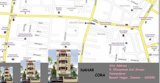 Nahar Cora Location Plan