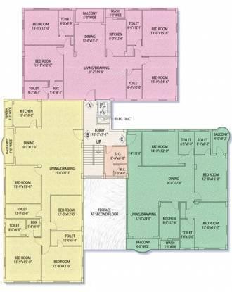 Akshara Petals Cluster Plan