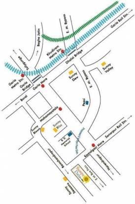 Starlite Sunny Dale Location Plan