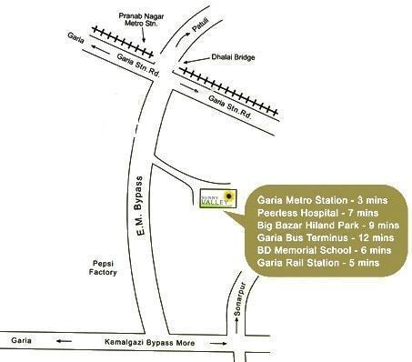 Starlite Sunny Valley Location Plan