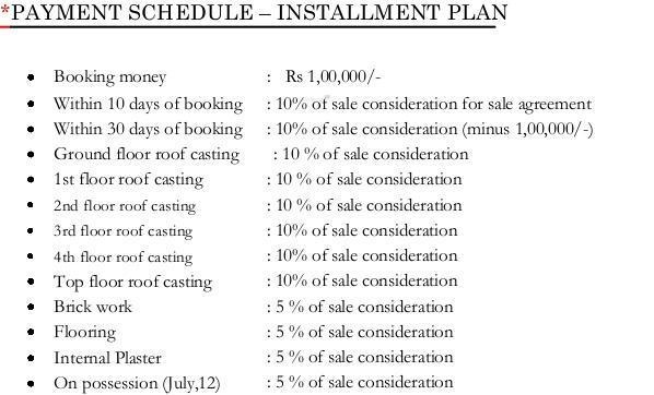 Magnolia Greens Payment Plan