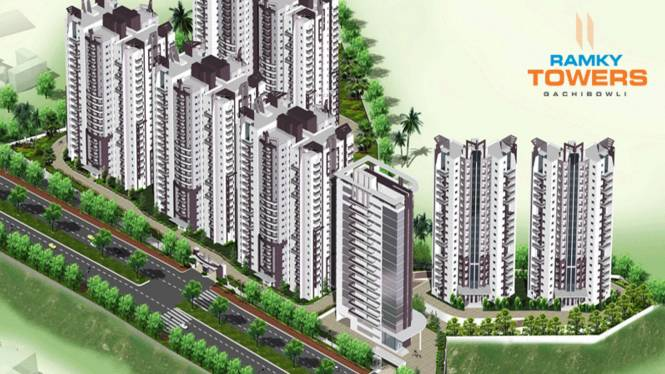 Ramky Towers Elevation
