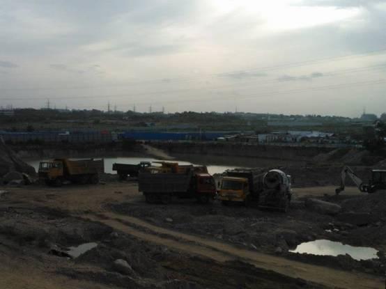 Prajay Megapolis Construction Status