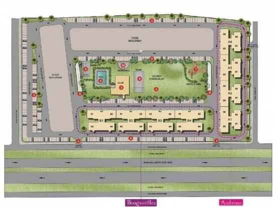 Unitech Gardens Site Plan